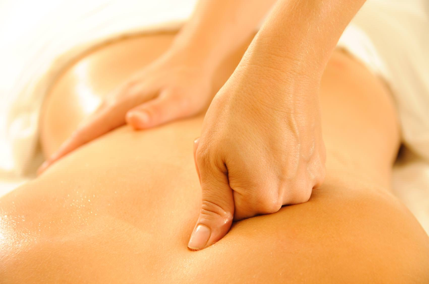 Spinal Massage Hand Job Technique